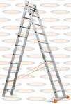 Двухсекционная выдвижная лестница Эйфель Классик 2х10