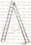 Двухсекционная лестница Эйфель Классик 2х11