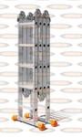Лестница трансформер Эйфель 2х4+2х5 Классик