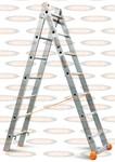 Двухсекционная выдвижная лестница Эйфель Классик 2х7