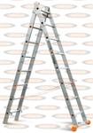 Двухсекционная выдвижная лестница Эйфель Классик 2х8