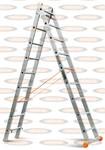 Двухсекционная выдвижная лестница Эйфель Классик 2х9