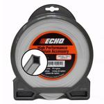 Корд трим.(леска для триммера)Titanium Power Line 2,5мм*191м (квадрат), ECHO
