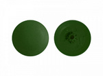 Заглушка под  саморез №2 , Зеленый PH №2/PZ №2 (1000шт)