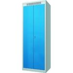 Шкаф металлический гардеробный ШМГ- 320, двустворчатая дверь, отсек для головного убора