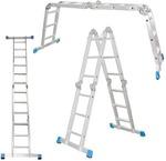 Лестница трансформер алюминиевая Стандарт 4х3