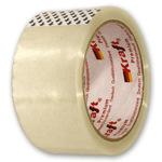 Скотч упаковочный  прозрачный Kraft 50мм х 66м
