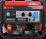 Портативный бензиновый генератор A-iPower A5500EA 20106