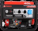 Портативный бензиновый генератор A-iPower A7500EA 20112