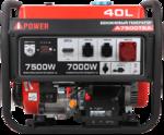 Портативный бензиновый генератор A-iPower A7500TEA 20114
