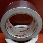 Скотч алюминиевый (металлизированный фольгированный) Kraft 50мм х 20м