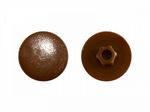 Заглушка под  конфирмат Темно-коричневая (1000шт)