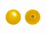 Заглушка под  конфирмат Желтая (1000шт)