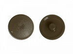 Заглушка под рамник Тёмно-коричневая (1000шт)