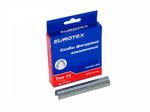 """Скобы """"EUROTEX"""" фигурные для прямоугольного кабеля шириной до 4 мм закаленные ТИП 15 (100)"""